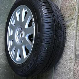 """Audi A3 17"""" Alloy with Brand New Goodyear Tyre"""