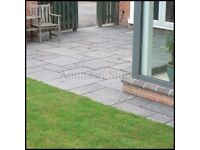 Kotah Black Limestone Paving Slab, 22mm Calibrated, 16.06m² Patio Pack £300 FREE NATIONWIDE DELIVERY