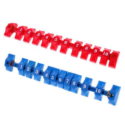 2 Stück Premium Tischfussball Torzähler Zähler Zählwerk Toranzeige