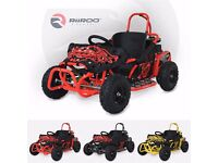 RiiRoo 4 Wheel Petrol Off Road Go Kart Buggy Outdoor Kids Ride On Go-Kart