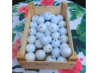 Used golf balls Nike...Taylormade....Callaway....Srixon....Titleist.....no pro v1s