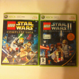 2x Lego Star Wars games for Xbox 360/Xbox One - £10