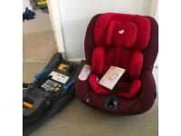 Joie I Anchor car seat and base isofix or car seat belt fixings