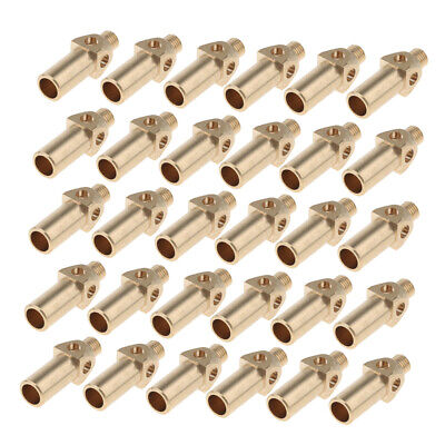30 Pieces Brass Replacement Tipnozzle Jet Burner For Propane Lp Gas
