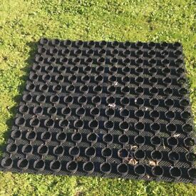 Like brand new 8 mats 1 meter square each