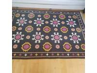 large cotton rug 170x240