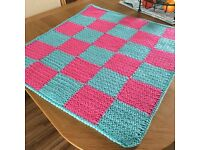 Chunky colourful changing mat