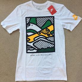 Nike Athletic Cut Huarache T-shirt - Size S