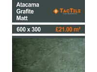 NEW YEAR, NEW TILES, NEW DEALS, NEW COWBOYS IN TOWN - CHECK OUT THE NEW ATACAMA GRAFITE