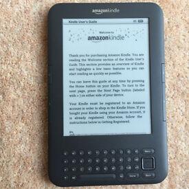 Amazon Kindle 4GB (Keyboard version) e-Reader