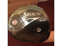 SRIXON Z545 DRIVER 9.5 degree loft. BRAND NEW