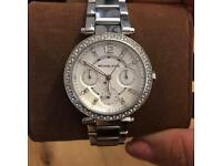 Michael kors Parker ladies chronograph watch silver