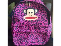 Paul Frank Pink and Black Back pack