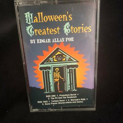 Robert J Walsh Halloween (Halloweens Greatest Stories Edgar Allan Poe Cassette Robert J Walsh)