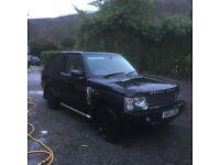 2005 Range Rover ma swap