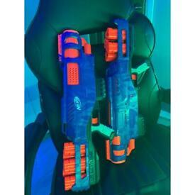 2 NERF GUNS FOR SALE
