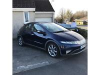 Honda Civic 2.2 CDTI EX - SAT NAT - BLUETOOTH
