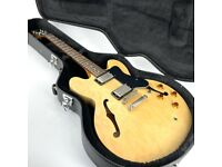 2010 Epiphone Dot Semi Hollow with Hard Case – Natural - Trades