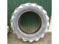 1 x Front Tractor Tyre Firestone 10-24 suit digger dumper plant machine excavator 4wd 4 ply 10 x 24