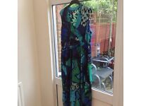 Monsoon Butterfly Print Dress