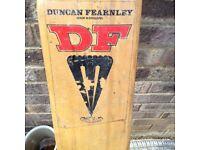 A Vintage Duncan Fearnley Cricket Bat
