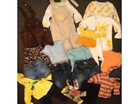 Boy's clothes 9 - 24 months, 1 - 2 years old, second hand, nearly new bundle