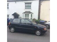 Volkswagen Polo 1998 good condition 11 months MOT 60,000 miles on clock two owners.