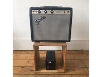 Fender 1974 Champ Silverface Amplifier.