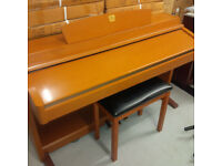 Yamaha Clavinova CLP-230 Digital Piano in cherry / oak finish and matching stool