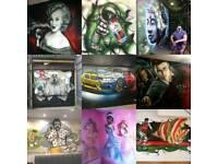 Graffiti Artist - mural ,airbrush,workshops and more..