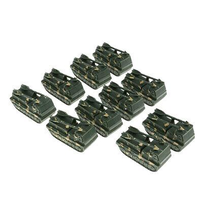 10er Set Action Figur Armee Kampf Spiel Spielzeug Panzer Zubehör Spielset