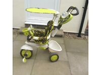 Smart trike 4 in 1 - touch steering