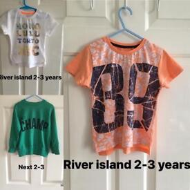 Boys Clothes Size 2-3years