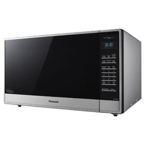 Panasonic Nn St975s 361 Countertop Microwave 2 Cu Ft Stainless Steel