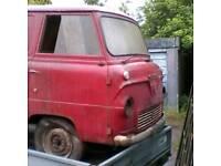 Ford thames 400e van 1962