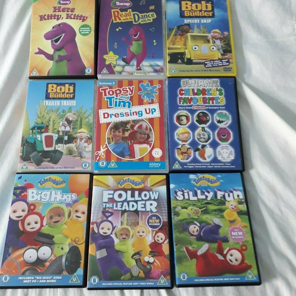 Children's TV Series DVD Bundle (9 Items) PRE-OWNED   in Bargoed,  Caerphilly   Gumtree