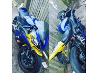 Yamaha R6 £4350. 08reg, 14,400 miles. (1 of a kind custom colour).