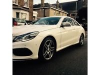 Stunning Mercedes Benz E250 AMG Line in a very popular Polar White, 1 FORMER KEEPER