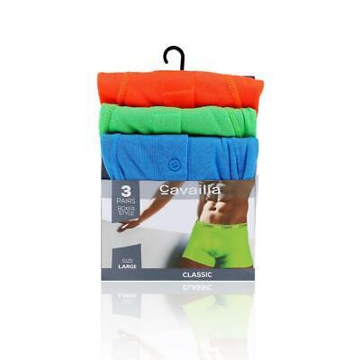 Classic 3 Pack Boxer Brief (Men's Neon Classic Boxer Shorts 3 Pack Boxer Trunks Under Pants/Under Wear Brief)