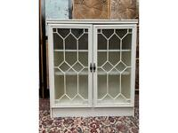 Wooden Display Cabinet White