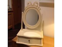REDUCED!!! Pretty Mirror with Drawer.