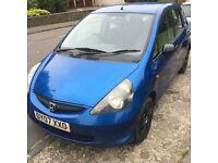 honda jazz in blue clean car new mot serice history bargain 1150£ harrow area
