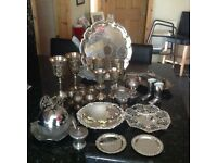 Unwanted silver ornaments
