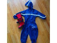 Waterproofs & wheelies 18-24 months