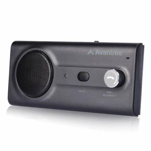 Hands Free Dual Link Wireless Bluetooth Sun Visor Car Kit Speakerphone Speaker