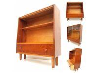 Retro Teak Sideboard/Bookcase/Drinks Cabinet - Mid Century G-Plan 1970s Era
