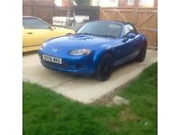 Mazda mx5 1.8 2006 with 56000miles. Heated leather seats. Scorpion exhaust. All works as it should