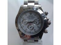 Rolex - Daytona- All steel- White dial
