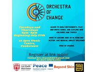 FREE Instrument Building Workshop - Orchestra Of Change!