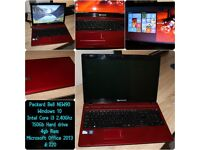 Packard bell by ACER Red laptop (i3)